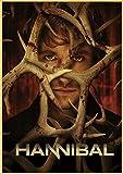 qianyuhe Druck auf Leinwand Hot TV-Serie Film Hannibal