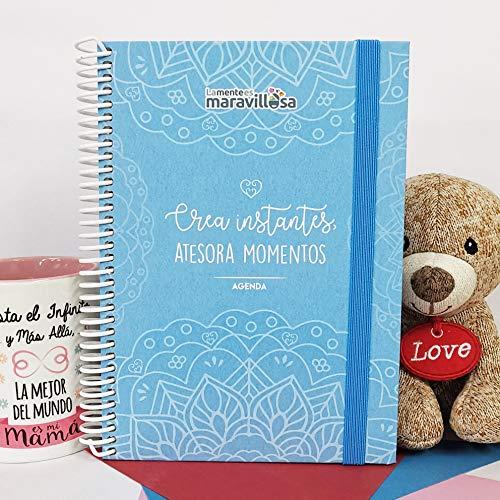 La Mente es Maravillosa - Agenda ETERNA Atemporal (EN ESPAÑOL) (Tamaño A5, Semana Vista) (Agenda 2020) - Diseño Mandala