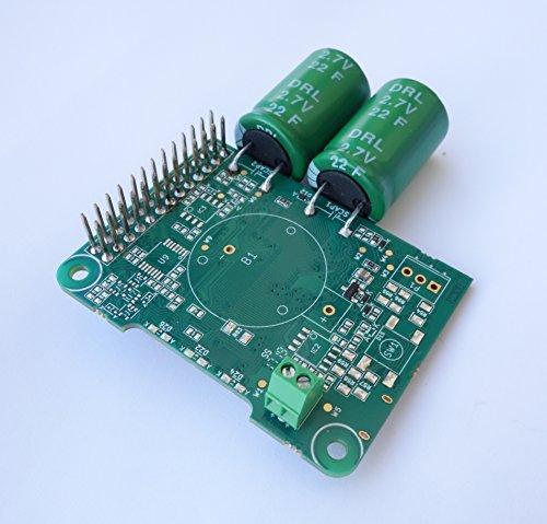 Juice4halt Supercapacitor UPS for Raspberry Pi, 7V.28V Input, Screw terminal