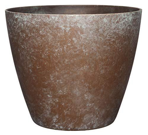 Classic Home and Garden 807-377R Premiere Collection Planter, Vogue 8', Weathered Copper