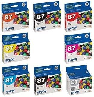Epson Complete Ink Cartridge Set (B) for Epson Stylus Photo R1900 Printer