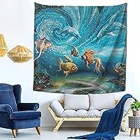 タペストリー 輝くプランクトンの魔法 ポスター インテリア 多機能壁掛け 大判 おしゃれ飾り 装飾アート 個性ギフト 新居祝い 雰囲気転換 模様替え 150cmX150cm