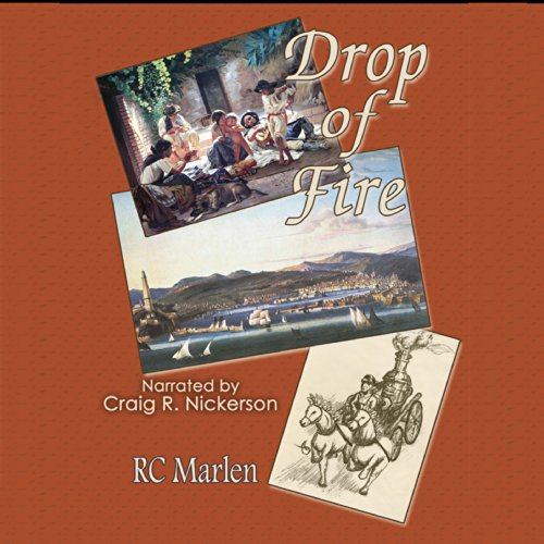 Drop of Fire audiobook cover art
