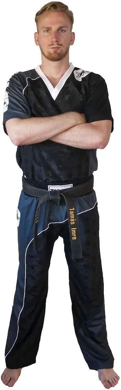 TopTen Bow Kickboxing Uniform Black Grey
