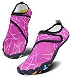 Men Women Water Sports Shoes Slip-on Quick Dry Aqua Swim Shoes for Pool Beach Surf Walking Water...