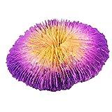 Tuimiyisou Fish Tank Ornamento Coral Acuario Artificiales Plantas de Resina no tóxica Paisaje Decoración Style3