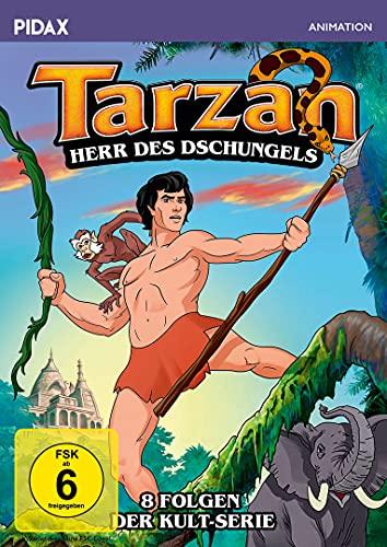 Tarzan - Herr des Dschungels / Acht Folgen der Kult-Serie (Pidax Animation) [2 DVDs]