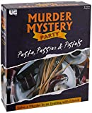 University Games Murder Mystery Party Games - Pasta, Passion & Pistols, Host Your Own Italian Restaurant Murder Mystery Dinner for 8 Players, Solve the Case with Crime Scene Clues, 18 Years and Up