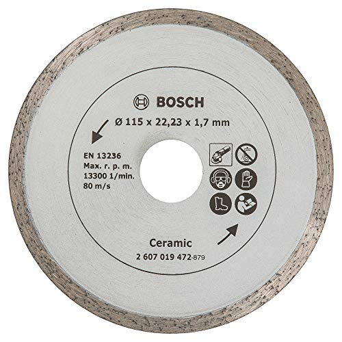 Bosch Home and Garden 2607019472 Disco Diamantato Piastrelle, 115 mm