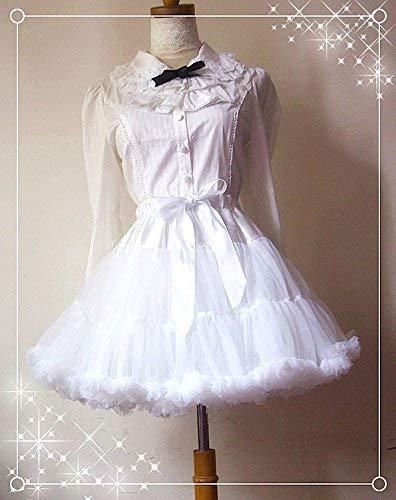 『パンプキンパレード ドレス パニエ ふわふわケーキ ハロウィン 衣装 コスプレ 大人 女性 仮装 コスチューム 白』の2枚目の画像