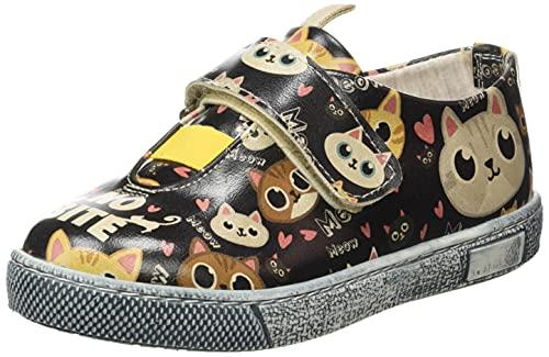 DOGO Kids Crosker, Zapatilla, Multicolor, 34 EU