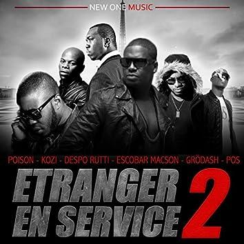 Étranger en service, vol. 2 (feat. Kozi, Escobar Macson, Despo Rutti, Grodash, Pos)