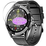 VacFun 3 Piezas Vidrio Templado Protector de Pantalla, compatible con JINPXI LEMFO S1 smartwatch...