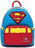 Loungefly DC Comics Classic Superman Cosplay Faux Leather Mini Backpack