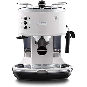 DeLonghi Eco 311 - Cafetera automática, 1100 W, 1.4 L, color plateado: Amazon.es: Hogar