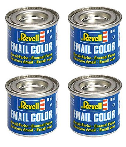 Revell 4 14ml Email Farben für Modellbau - Sie können die Farben wählen