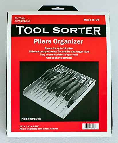 Tool Sorter Pliers Organizer Black