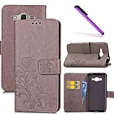 COTDINFOR Samsung Galaxy J2 Prime Case Wallet Bookstyle Pu