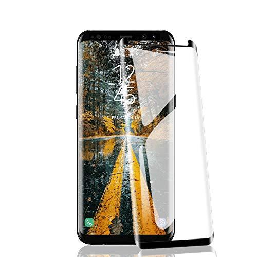RIIMUHIR 2 Pezzi in Vetro temperato per Samsung Galaxy S9 Plus, Senza Bolle, Resistente alle Impronte digitali, Resistente all'olio, Ultra-Trasparente, Trasparente