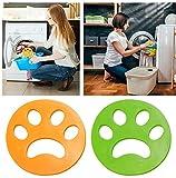 HUHUDAY Boule Anti Poil, Poil Machine à Laver, Boule De Lavage pour Poils d'animaux...