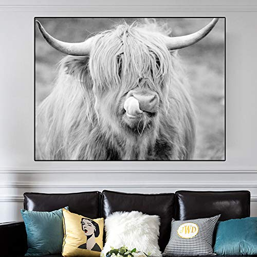 DIY 5D Diamond Painting Kits Highland Cattle embroidery cross stitch crystal sets mosaic diamond painting30x45cm Full round drill