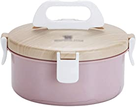 WCHCJ Lunch Box,Portable Stainless Steel Insulated Lunch with Lunch Bag Portable Utensil, Free Leakproof Food Storage Cont...