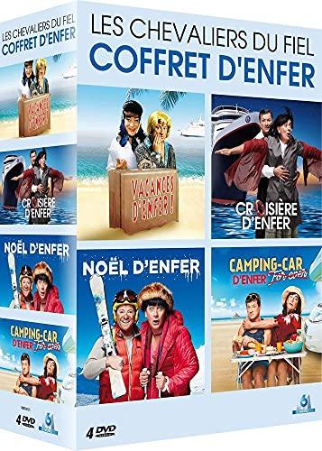 Les Chevaliers du fiel-Coffret Vacances Croisière Noël d'enfer + Camping-Car for Ever