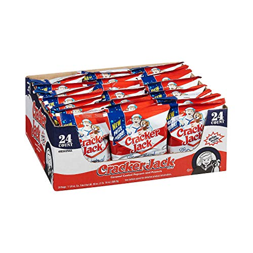 Cracker Jack - 24/1.25 oz. bags - (Original from manufacturer - Bulk Discount available)