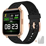 Smart Watch Fitness Tracker for Women Men Activity Watch and Heart Rate Monitor Waterproof Smart Bracelet with Sleep Monitor Pedometer Calorie Stopwatch with 17 Sport Modes.