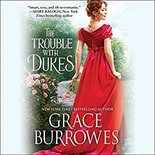 The Trouble with Dukes audiobook cover art