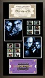 Harry Potter y el prisionero de Azkaban 12 pantalla de estilo de celda de cine 8x16 enmarcado billete de tren y billete de autobús de caballero