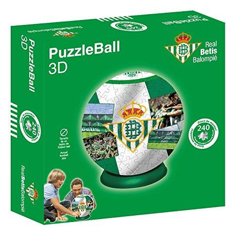 Kappa Puzzleball Real Betis (Tamaño Balón) 8,4 (63706), Multicolor, Ninguna