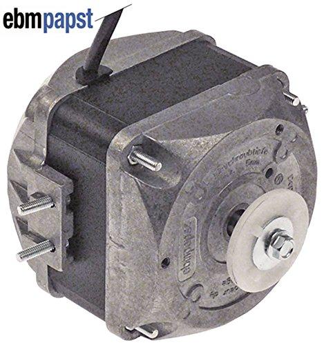 EBM-PAPST M4Q045-DA01-75 - Motore per ventola, 230 V, 18 W, 1300/1550 giri/min, 50/60 Hz, 5 opzioni di montaggio, larghezza 78 mm, velocità 2
