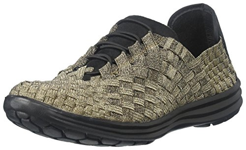 Bernie Mev Women's Victoria Walking Shoe, Bronze, 40 EU/9.5-10 M US