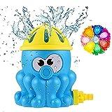Hook Wasserspielzeug Garten, Wasserspielzeug Kinder Wasserspritze Wasserspiel Garten, Sprinkler Für Outdoor Garten, Sprinkler Kinder + 500pcs Wasserballons