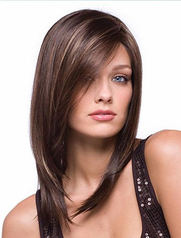 Mode Perücken WIGSTYLE mix Farbe hochwertig langen glatten Haaren neue synthetische Perücken B076NWRVS7  Sehen Sie die Welt aus der Perspektive des Kindes   | Verrückter Preis