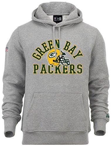 New Era - NFL Green Bay Packers College PO Hoodie - Light Grey Heather - XXL