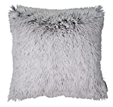 TOM TAILOR T-Fluffy Kissenhülle, Polyester, grau, 47 x 47 x 1 cm