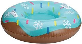 HELLOO HOME Tube À Neige Gonflable Luge Gonflable Neige Adulte avec Poignée pour Les Enfants Et Les Adultes, Idéal pour Le...