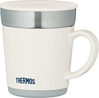 サーモス 保温マグカップ 350ml ホワイト JDC-351WH