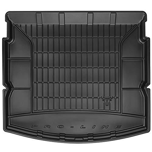 DBS Tapis de Coffre Auto - sur Mesure - Bac de Coffre pour Voiture - Rebords Surélevés - Caoutchouc Haute qualité - Antidérapant - Simple d'entretien - 1766582