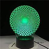 Formnachtlicht-Tiertischlampeschlaf-Beleuchtungsdekoration der bunten Sichtführungszusammenfassung Neue