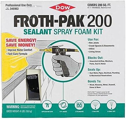 Froth-PAK 200 (1.75 PCF) Sealant
