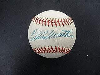 eddie mathews autograph