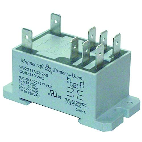 DPDT Relay: Amazon.com on 8 pin relay socket diagram, reed relay diagram, magnecraft relay w171dip-3, dayton solid state relay diagram, double pole relay diagram, chevrolet ssr ignition harness diagram, latching relay diagram, magnecraft relay accessories,