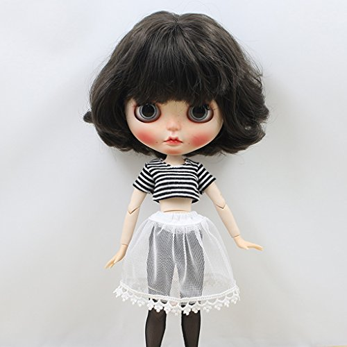 T TOOYFUL Puppenkleidung Top + Strümpfe + Kleid + Unterwäsche Für 12 '' Puppenkostüm