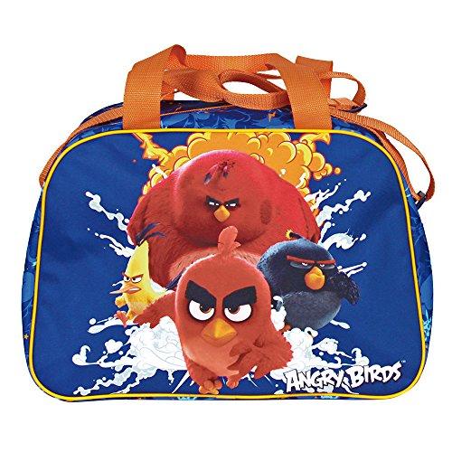 PERLETTI Bolso Deportivo Niño de Angry Birds - Bolsa de Deporte Infantil...