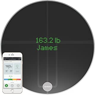 QardioBase2 WiFi Smart Scale and Body Analyzer: Monitor Weight, BMI and Body Composition, Easily Store, Track and Share Da...