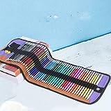 FENGHE Lápiz De Color Al Óleo Lápiz De Color 48 Color Soluble En Agua Plomo Estudiantes con Pincel Profesional Pintado A Mano Conjunto De Arte para Principiantes.