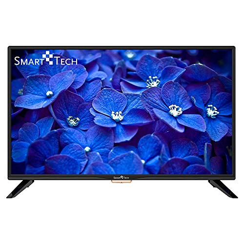 Smart-Tech SMT32Z1TS Televisor LED Listo para HD de 32 Pulgadas, Reproductor Multimedia a Través de Puerto USB y Puerto HDMI (Sintonizador Triple DVB-T/C / T2 / S / S2, Negro)